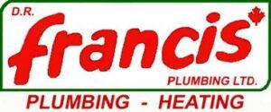 Francis Plumbing & Heating 1990's logo