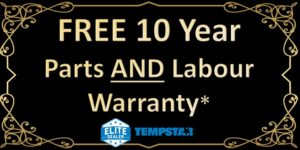 Free 10 Year Parts AND Labour Warranty Tempstar Special till July 31, 2020