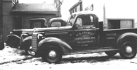 Francis Plumbing & Heating truck 1940's